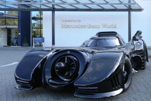 В Великобритании на торги выставят автомобиль Бэтмена