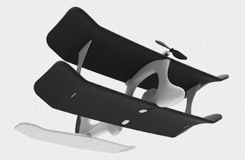 SmartPlane – легкий самолет с управлением по iPhone