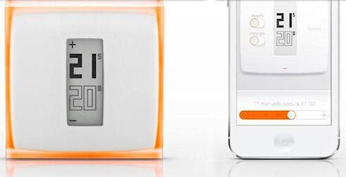 Netatmo – мобильный термостат с беспроводным управлением