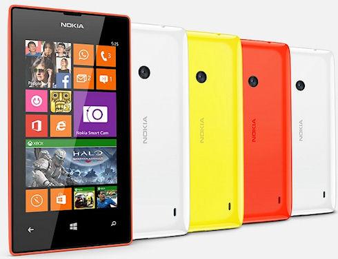 Nokia Lumia 525 – смартфон на смену Lumia 520