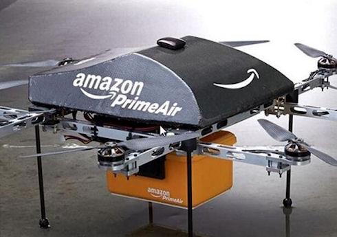 Amazon собирается доставлять товары с помощью дронов