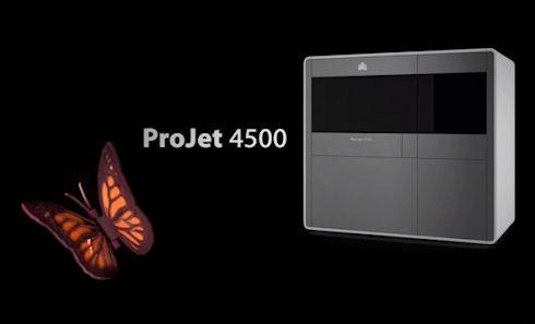 3D Systems анонсировала полноценный 3D-принтер ProJet 4500