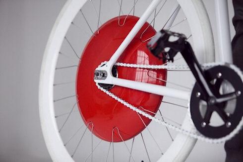 Copenhagen Wheel – электродвигатель для велосипеда