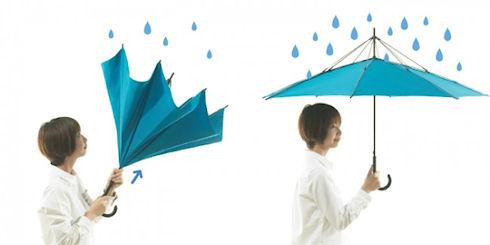 Unbrella – инновационный зонтик из Японии