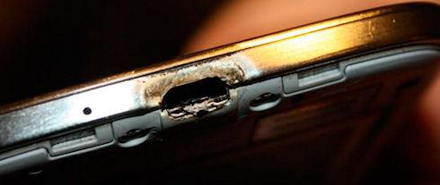 Samsung пыталась скрыть очередной случай воспламенения Galaxy S4