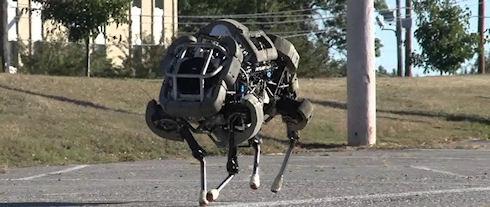 Google купила Boston Dynamics, создавшую «робомула»