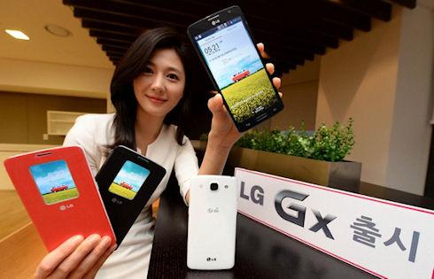 LG Gx – новый 5,5-дюймовый смартфон для внутреннего рынка