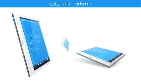 Adam II – планшет с двумя дисплеями от Notion Ink