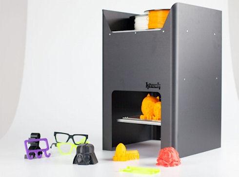 KTech Genesis — 3D-принтер с беспроводным интерфейсом Wi-Fi