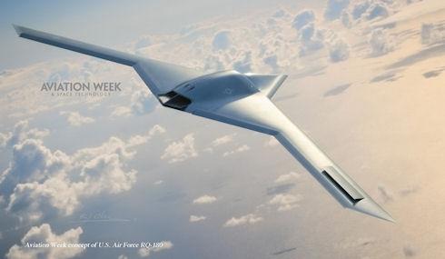 Беспилотник RQ-180 сможет летать 24 часа на высоте 18 километров