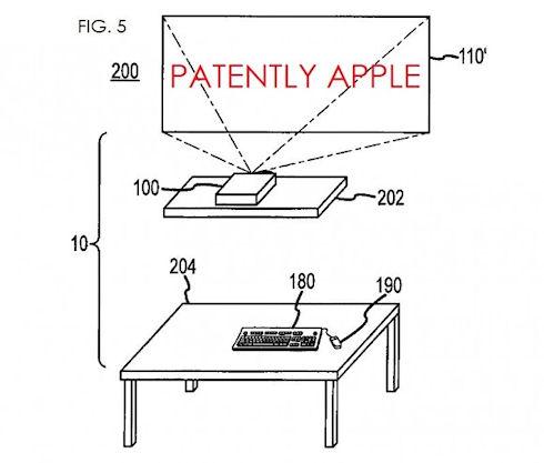 Apple запатентовала компьютер нового поколения