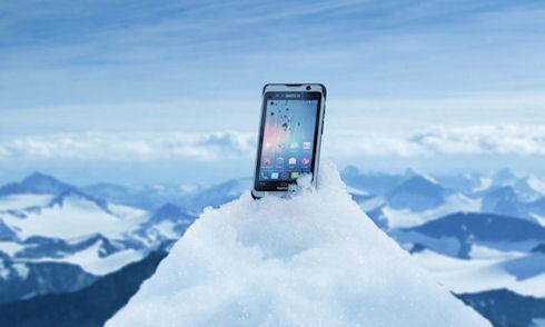 Nautiz X1 – смартфон с «армейской» защитой