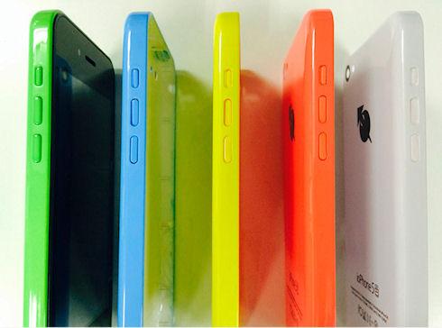 ioPhone5 – новый клон iPhone 5c на Android