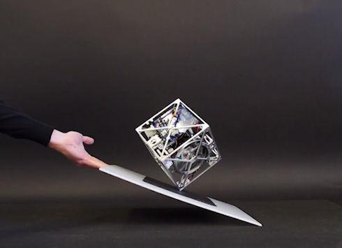 Cubli – кубический робот-ходок