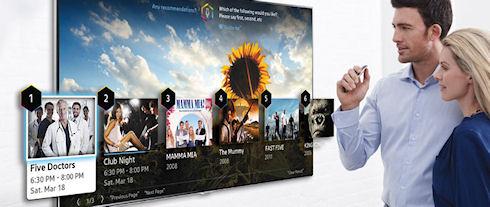 Телевизоры Samsung будут управляться жестами