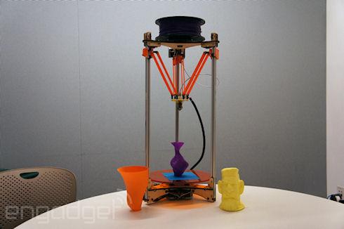 Deltaprintr   доступный 3D принтер с возможностью калибровки