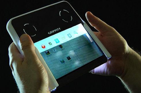 Grippity – планшетный компьютер с прозрачным дисплеем