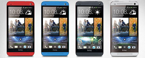 HTC анонсировала золотые корпуса для смартфонов One и One Max