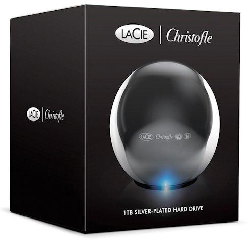 LaCie Sphere – «космический» корпус для внешнего жесткого диска