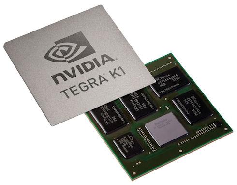 Nvidia Tegra K1 – графика уровня настольных компьютеров