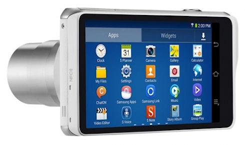 Samsung покажет Galaxy Camera 2 на CES 2014