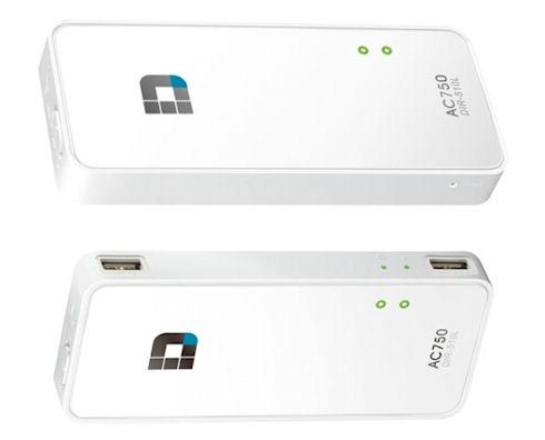 D-Link AC750 – компактный роутер со встроенным аккумулятором