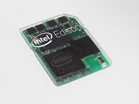 Intel показала сверхкомпактный компьютер Edison в корпусе флеш-карты