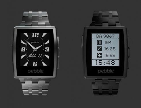 Pebble Steel – «умные» часы в новом дизайне за 249 долларов