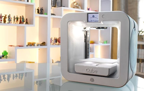3D Systems Cube 3 – домашний 3D-принтер по цене менее 1000 долларов
