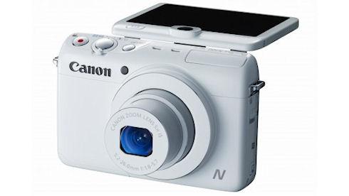 Canon PowerShot N100 – две камеры в одном корпусе