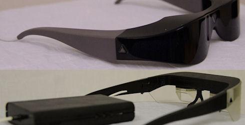 Atheer One – 3D-очки дополненной реальности