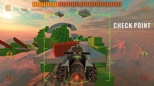 Jet Car Stunts 2 – виртуальный гоночный беспредел