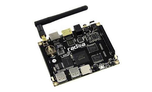 Radxa Rock – портативный компьютер с 4-ядерным процессором