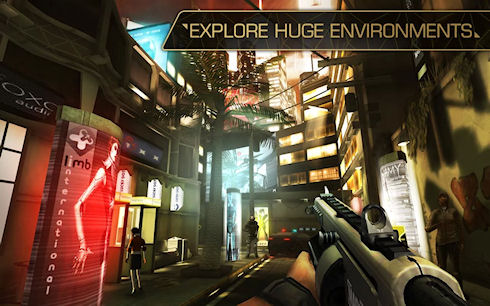 Игра Deus Ex: The Fall для Android доступна на Google Play