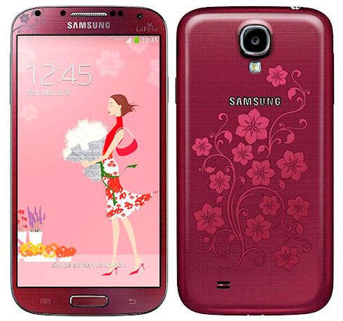 Samsung выпустит Galaxy S4 La Fleur ко Дню святого Валентина