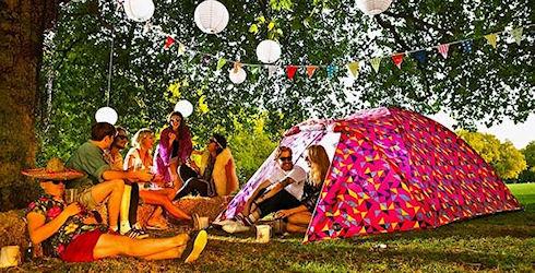 Солнечная палатка Bang Bang Solar Powered Tent