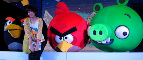 Angry Birds и Google Maps следят за пользователями