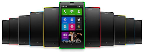 Nokia X – первый смартфон Nokia на Android