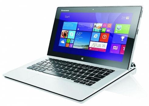 Стартовали продажи гибридного 10-дюймового нетбука Lenovo Miix 2
