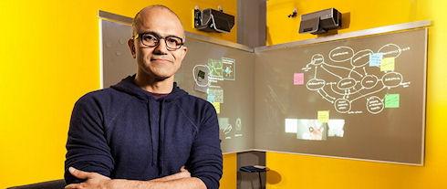 Сатья Наделла стал новым CEO Microsoft