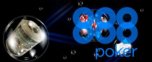 888Poker уверенно держится на второй позиции по трафику