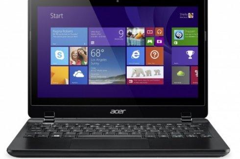 TravelMate B115 от Acer гарантирует 10 часов работы без подзарядки