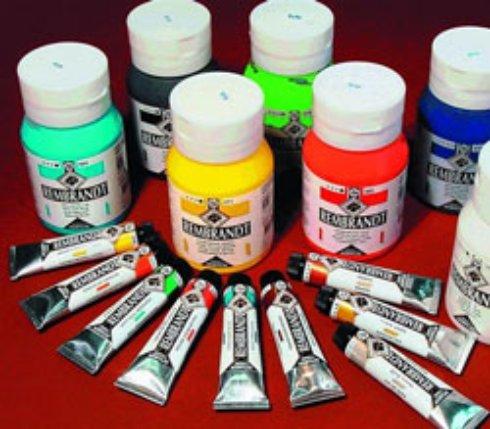 Акриловые краски: применение