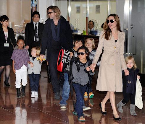 Анджелина Джоли позаботилась о безопасности детей в интернете