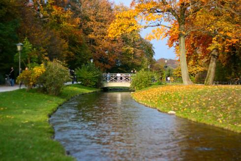 Английский сад в Германии