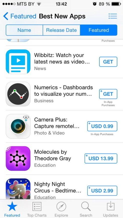 Пользователи App Store могут попрощаться с бесплатными приложениями