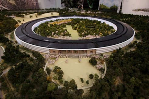 Apple обзавелась современным «зелёным» офисом