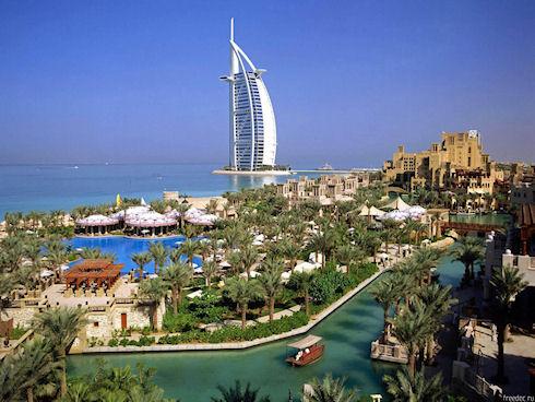 Арабские Эмираты – рай для отдыхающих