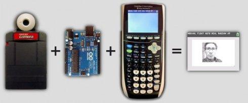 Американский энтузиаст создал камеру с помощью калькулятора