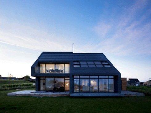 Архитекторы создают дома, производящие энергию